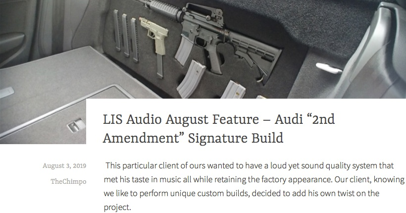 "LIS Audio August Feature - Audi ""First Amendment"" Build"