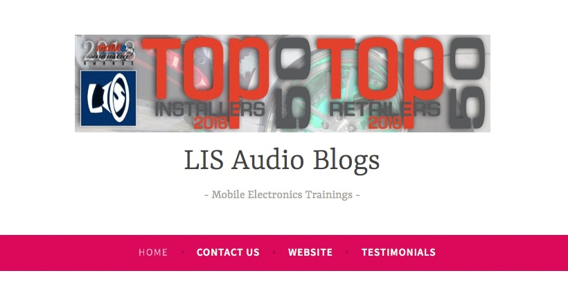 Click Image to See LIS Audio Blogs